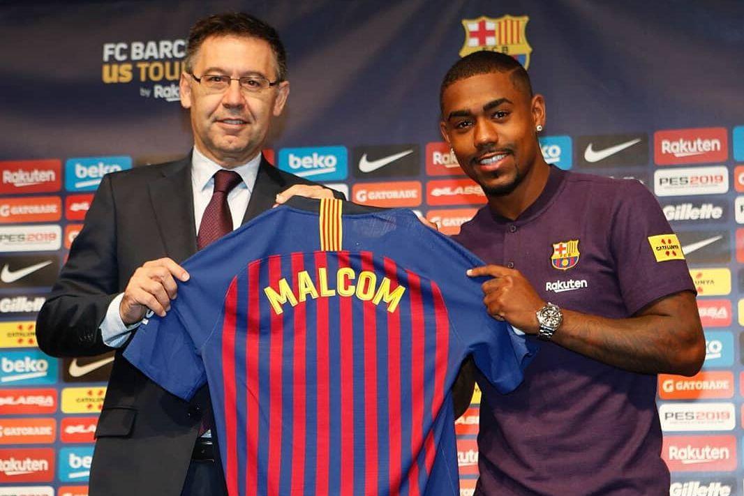 Barcelone doit encore 20 millions d'euros à Bordeaux pour Malcom